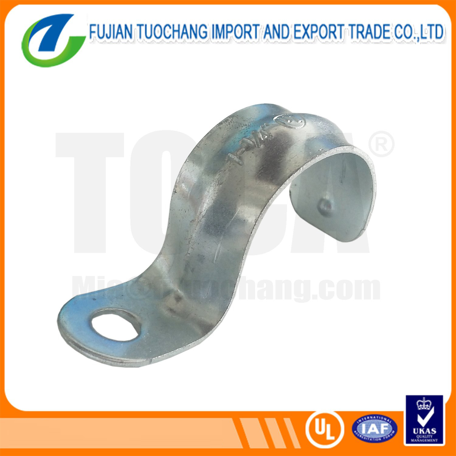 EMT Pipe Clamp One Hole Strut Clamp pictures & photos