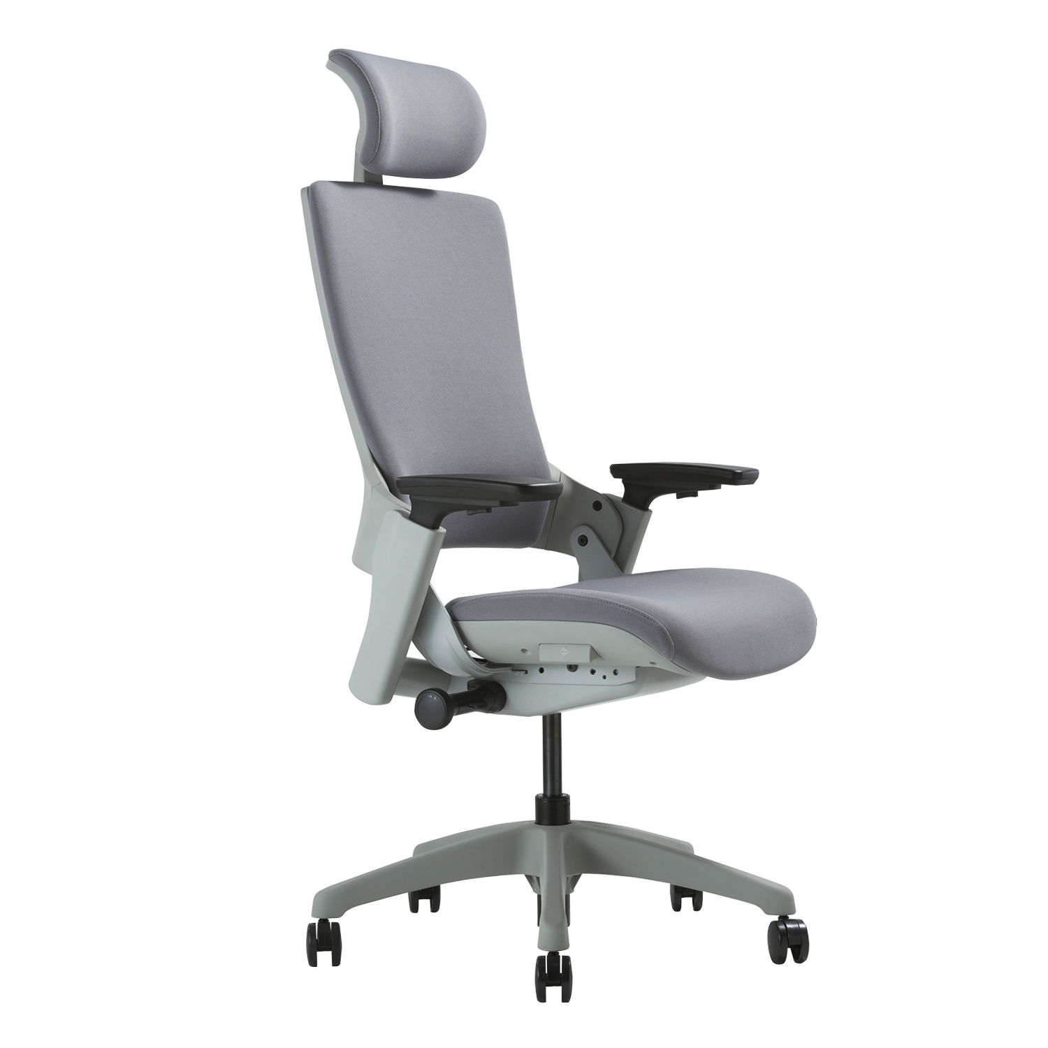 Image of: Black Rolling Desk Chair For Office Breathable High Back Executive Chair With Comfort Airflow Office Furniture Accessories Chairs Sofas