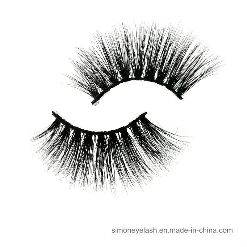 10e2f6fdf1a China OEM Private Label Wholesale 3D 100% Mink Fur False Lashes Half ...