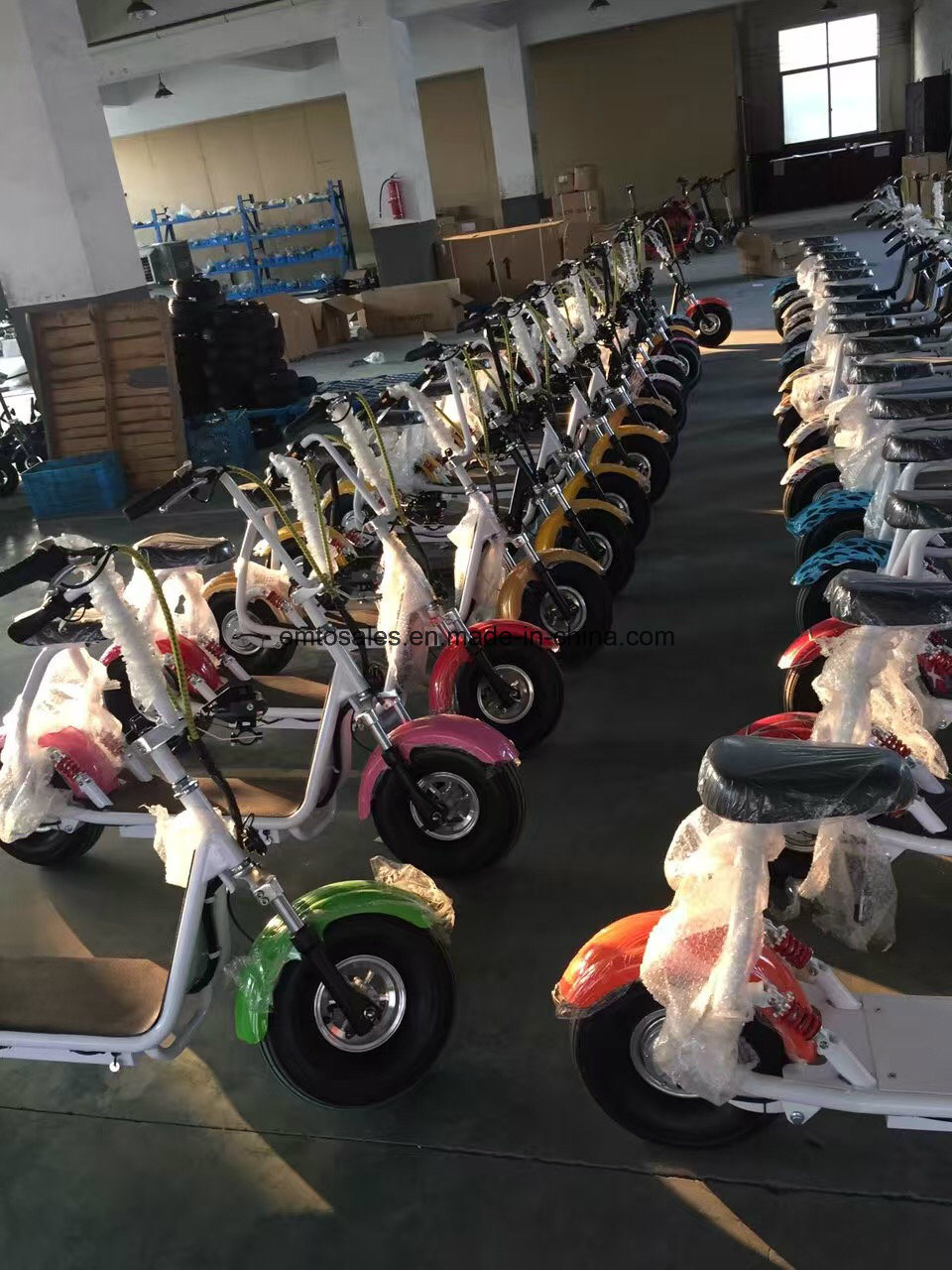 2016 New Big Wheel 500W City Coco Electric Scooter Electrical Mobility Scooter Kick Scooter pictures & photos