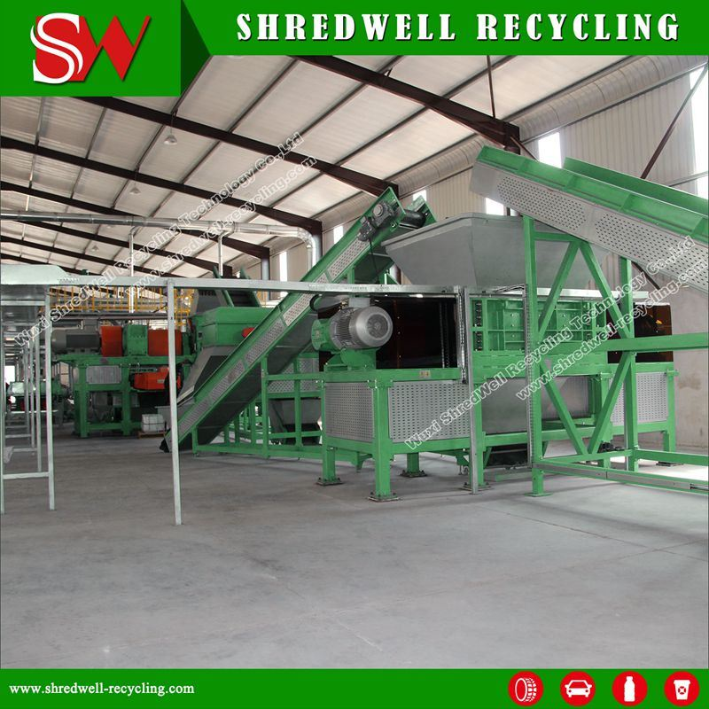 Full Automatic Waste Tire Recycling Machine for Scrap Tyres pictures & photos