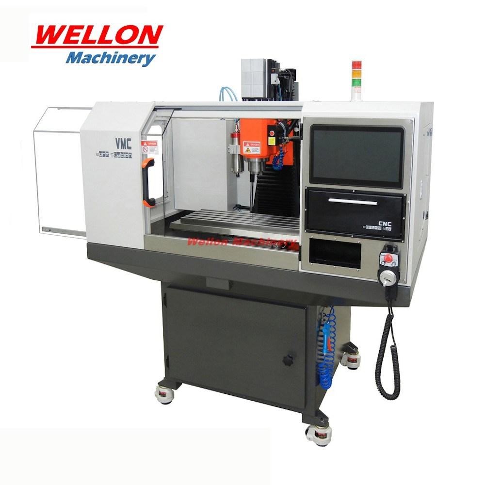 [Hot Item] Mini CNC Machining Center (SVM-1VMC Hobby CNC Milling Machine  Center)