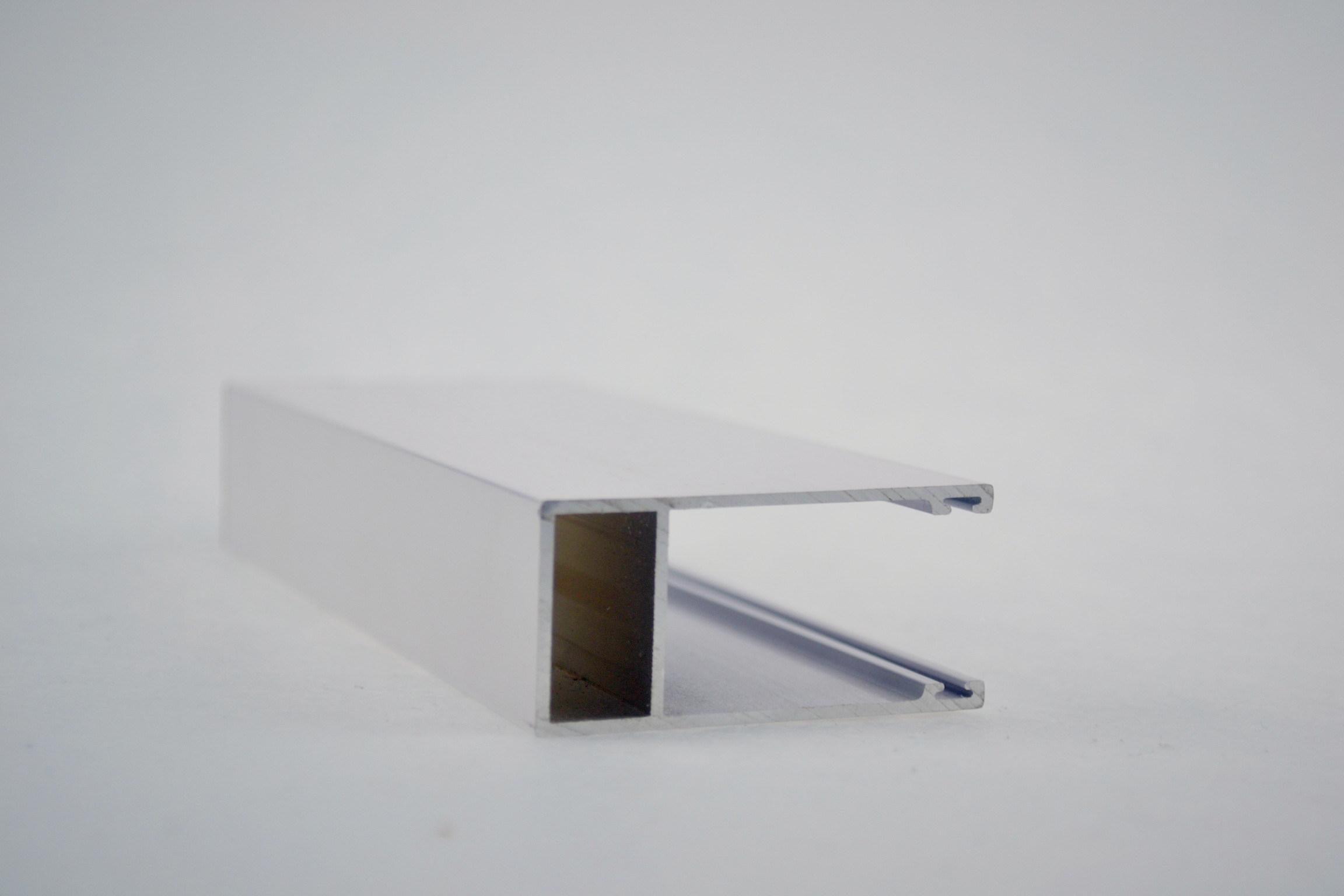 White Aluminium Panel : China aluminium panel track with white color china curtain track