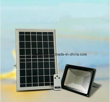 10W Energy Saving Epistar Waterproof Solar Power LED Flood Light with 2 Years Warranty pictures & photos