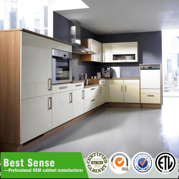 High Gloss Kitchen Cabinet, Movable Kitchen Cabinets With Sink