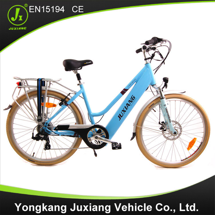 Lady Style Electric Bicycle with En15194