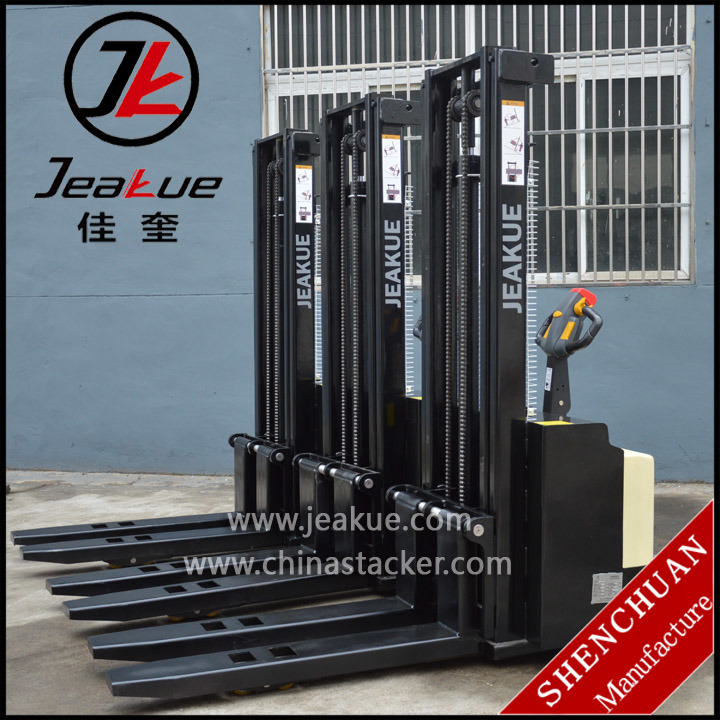 1.5t Stand-on Type Full Electric Stacker pictures & photos