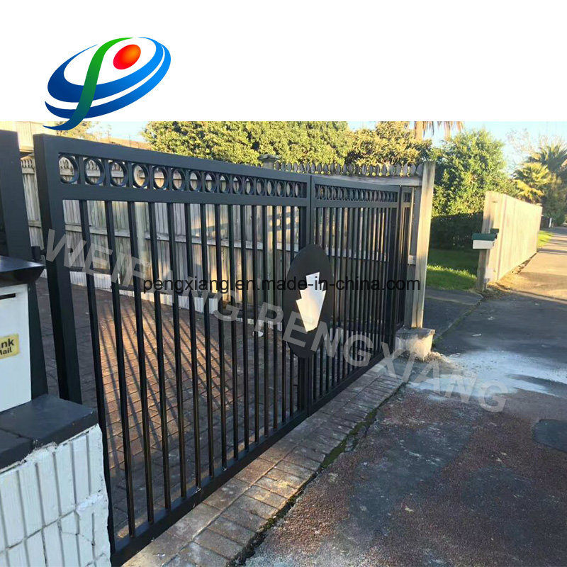 [Hot Item] Powder Coated Black Aluminum Fence Prices and Fence  Gate/Security Wrought Iron Door