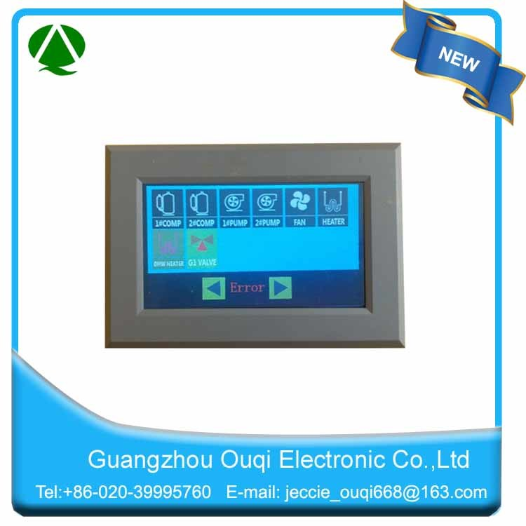 Air Source Heat Pump Controller with Color Panel Display