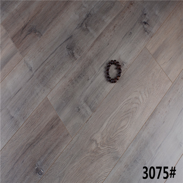 China 8mm 12mm Eir Light White Oak High Quality Drop Lock Laminate