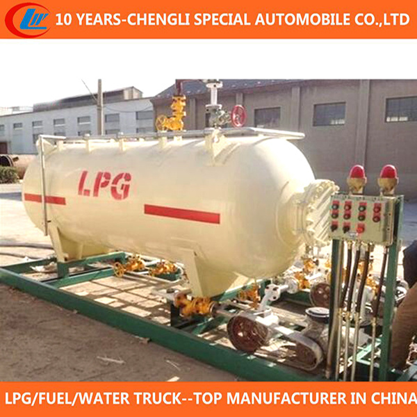 50000 Liters LPG Cylinder Filling Station 50m3 LPG Skid Station for Sale