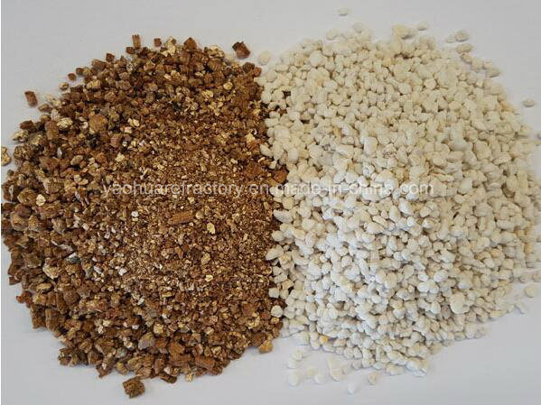 China Vermiculite perlite expanded for horticultural and hydroponics
