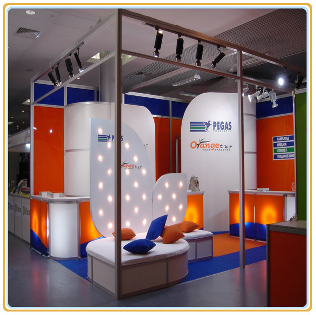 Exhibition Shell Scheme Suppliers : China exhibition trade advertising shell scheme booth in