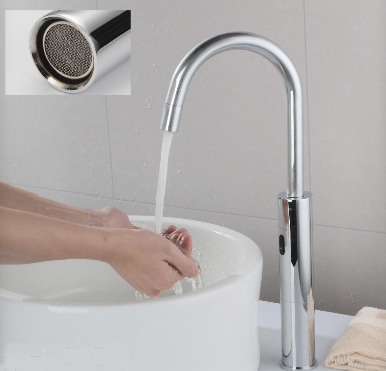 Hot Item Tall Automatic Sensor Kitchen Faucet For Sink