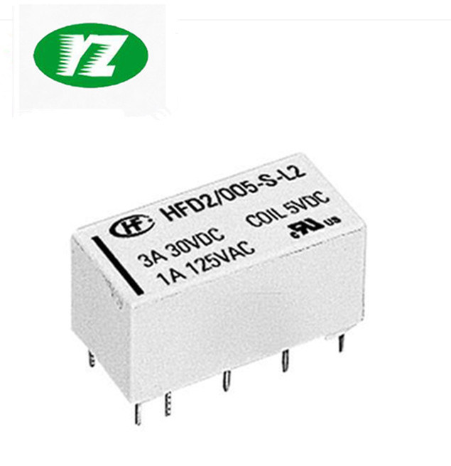 2Pcs Hongfa Relay HF116F-3-220AF-2H 220VAC Two sets of Normally open 6 Feet 25A
