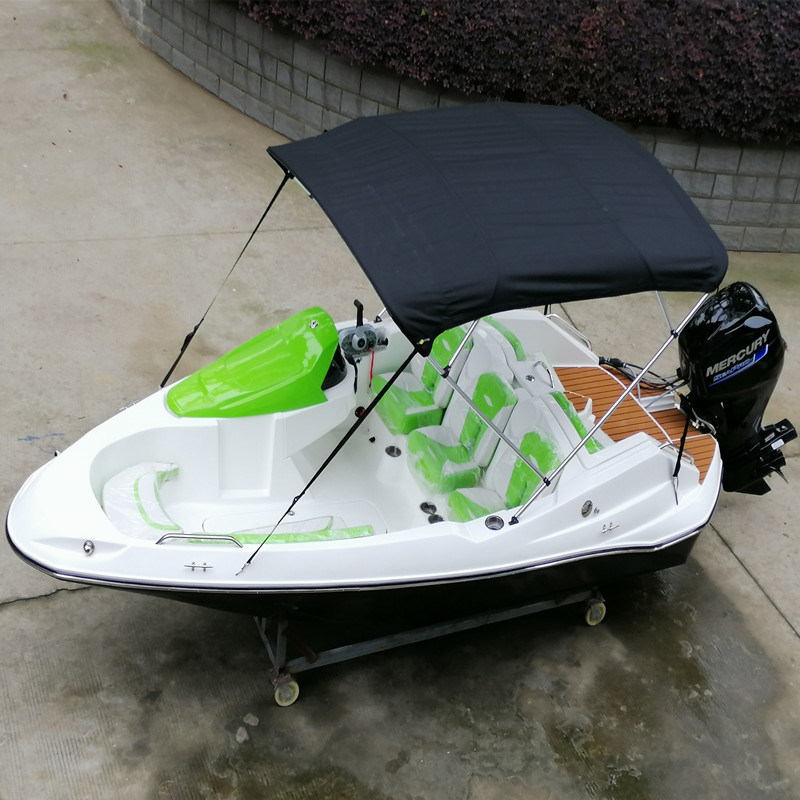 Small Jet Boats >> Hot Item 4 8m 15 7ft Small Jet Boat Fiberglass Fishing Speed Boat For Sale