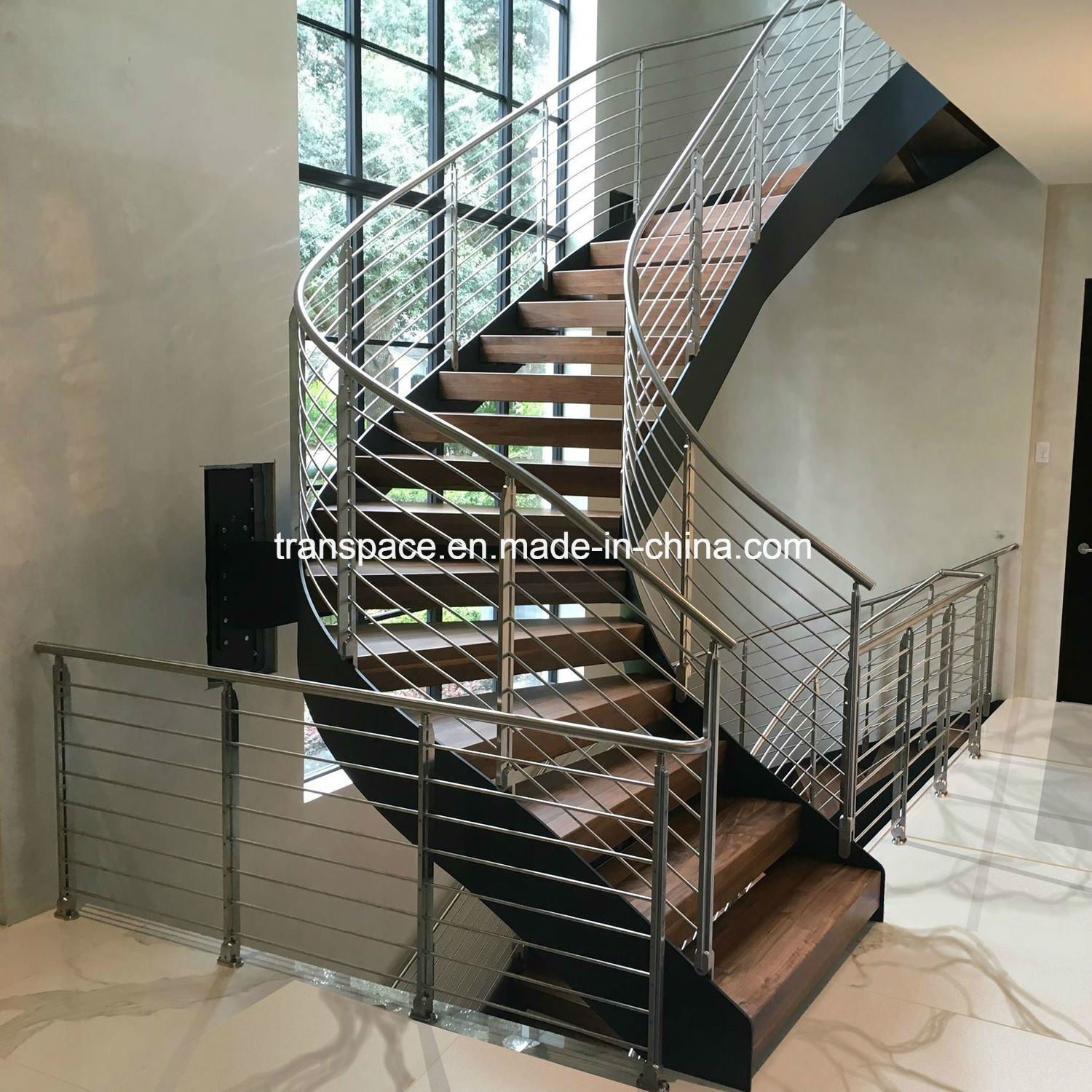 Steel Railing Designs For Stairs 5