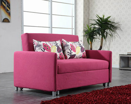 China Living Room Sofa Bed with Washable Colorful Fabric Cover ...