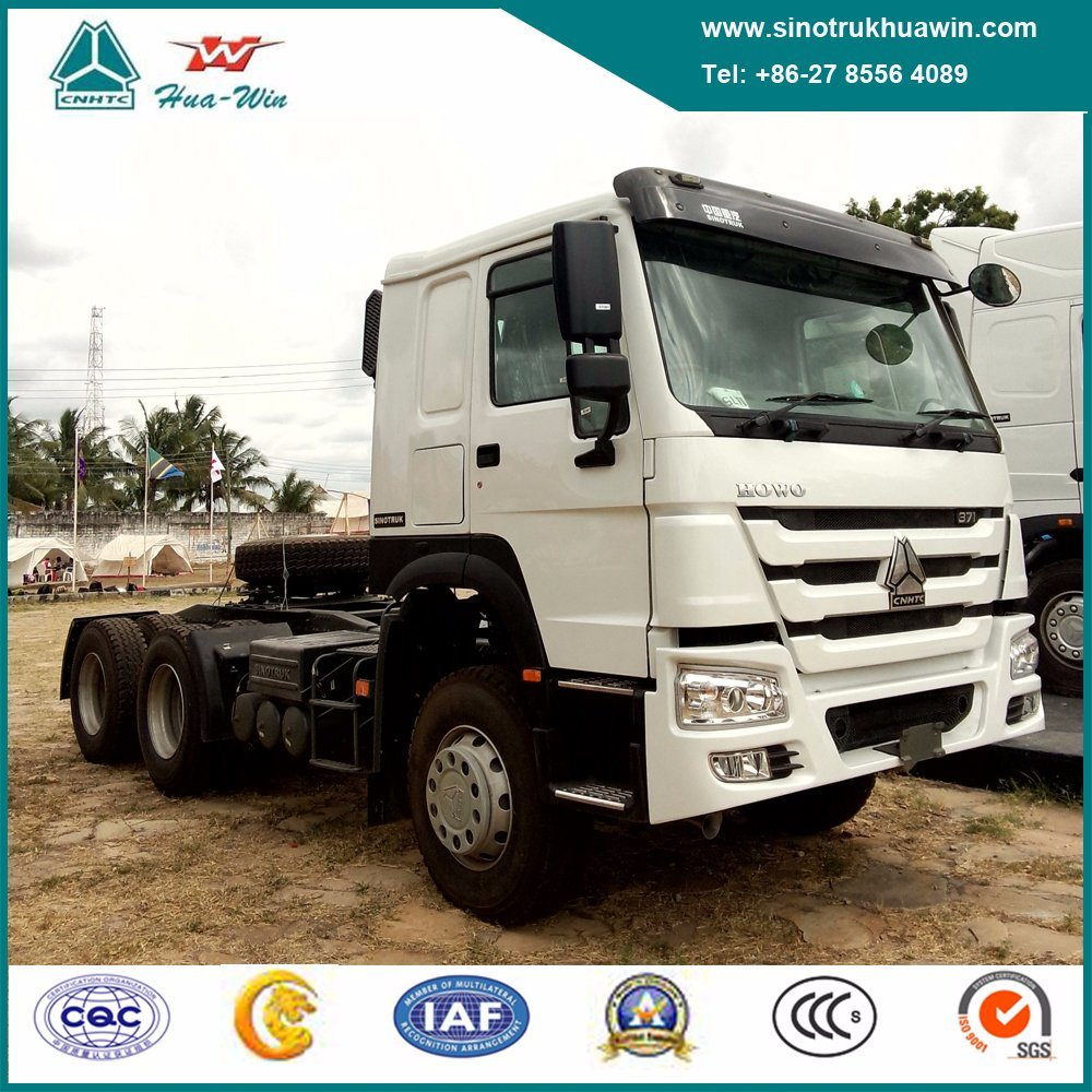 Sinotruk HOWO 6X4 Heavy Duty Tractor Truck with Diesel Engine