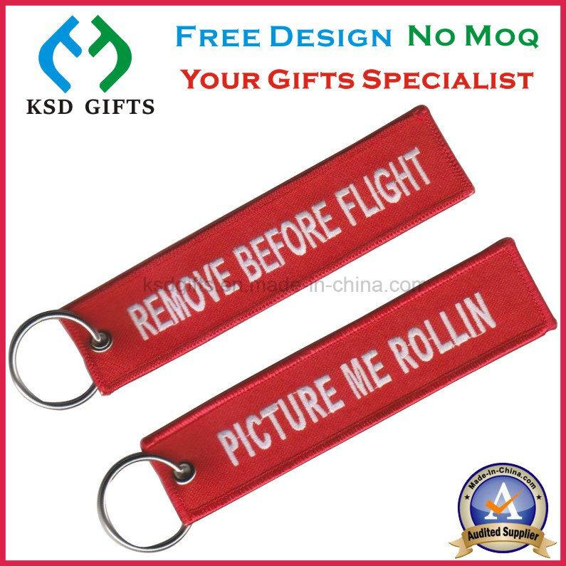 China Remove Before Flight Luggage Tag Custom Keychains Photos ... bd5cf87ca617