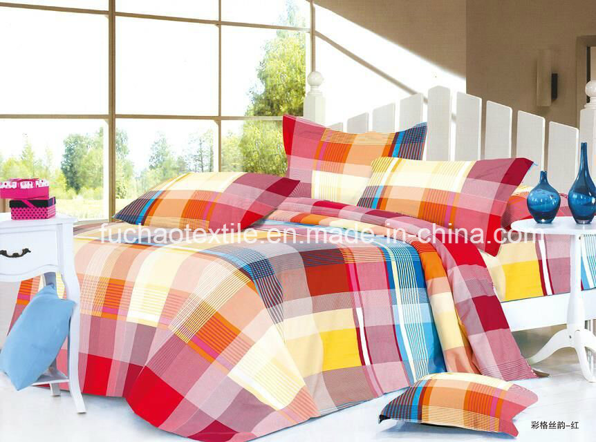 Microfiber Plain Bed Sheet Set Bedding Set Home Textile