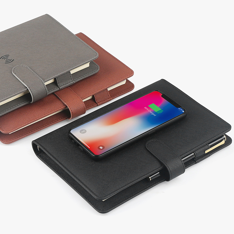 Multi-Functional Notebook with Built-in Power Bank