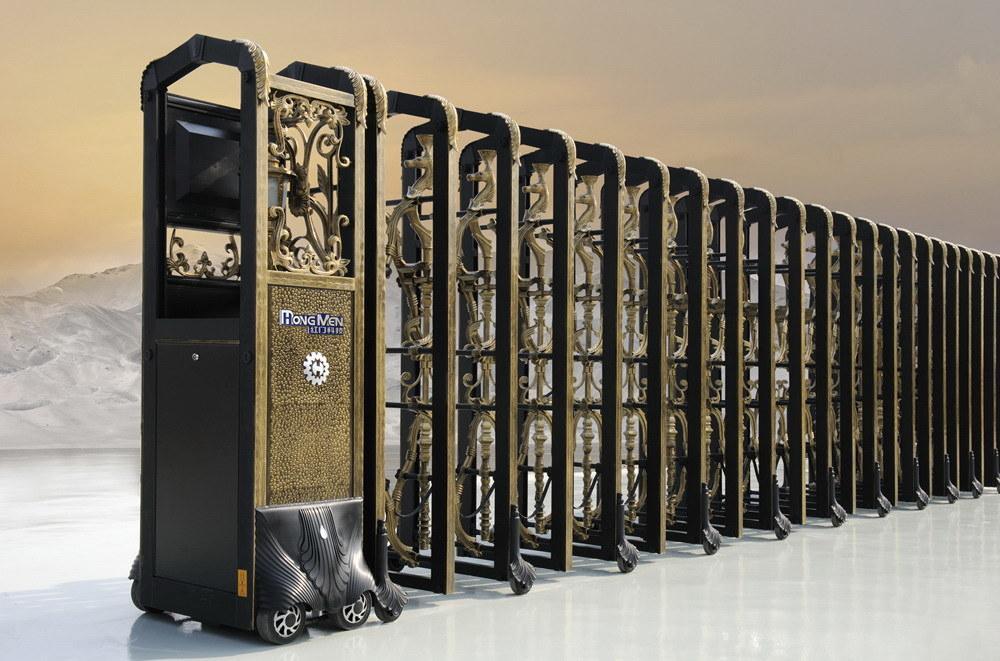 China Elegant Electric Automatic Retractable Gate Ssj