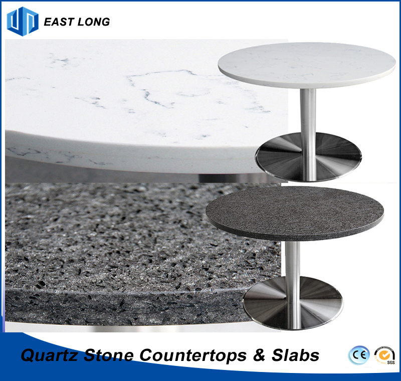 Hot Item Quartz Stone Table Tops For Home Decoration Building Materials With Ce Certificiate