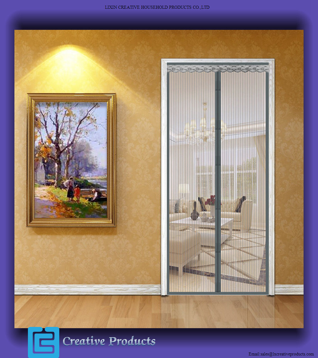 China Magnetic Screen Door Best Replacement For Traditional Mosquito