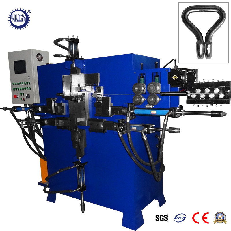 China Automatic Hydraulic Wire Cam Buckle Machine with Double Wire J ...