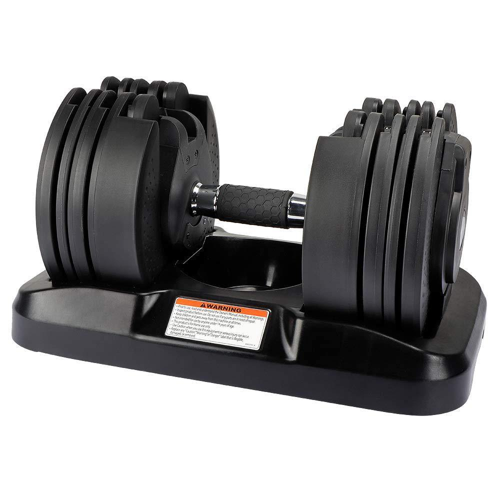 20kg 2 in 1 Weight Dumbbell Set Adjustable Gym Barbell Plates Body Workout E for sale online