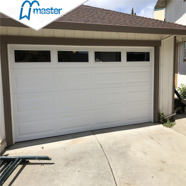 China Automatic Commercial Side Sliding Overhead Garage Doors With