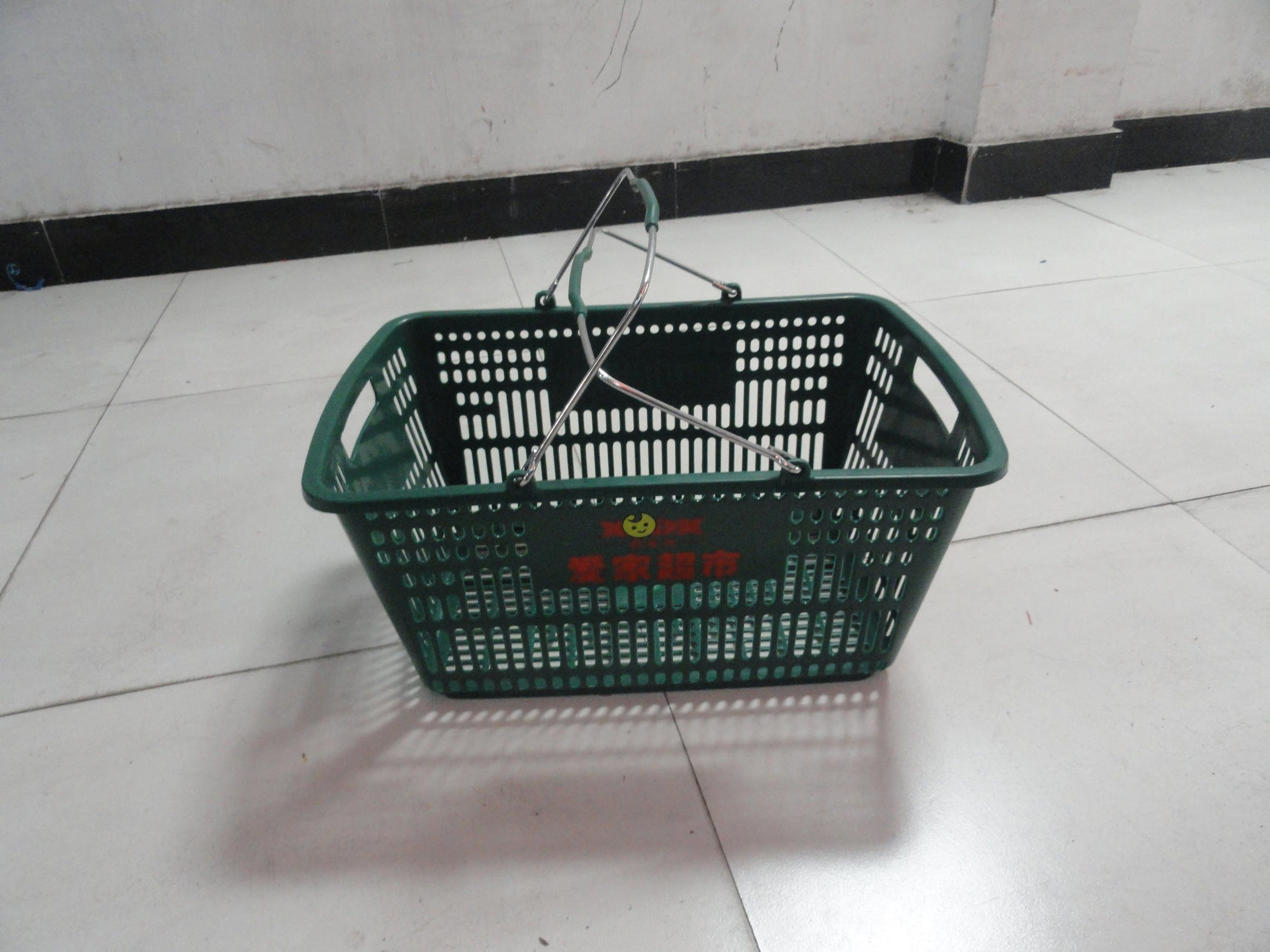 China High Quality Rolling Shopping Baskets On Wheels China Plastic Rolling Basket Shopping Basket