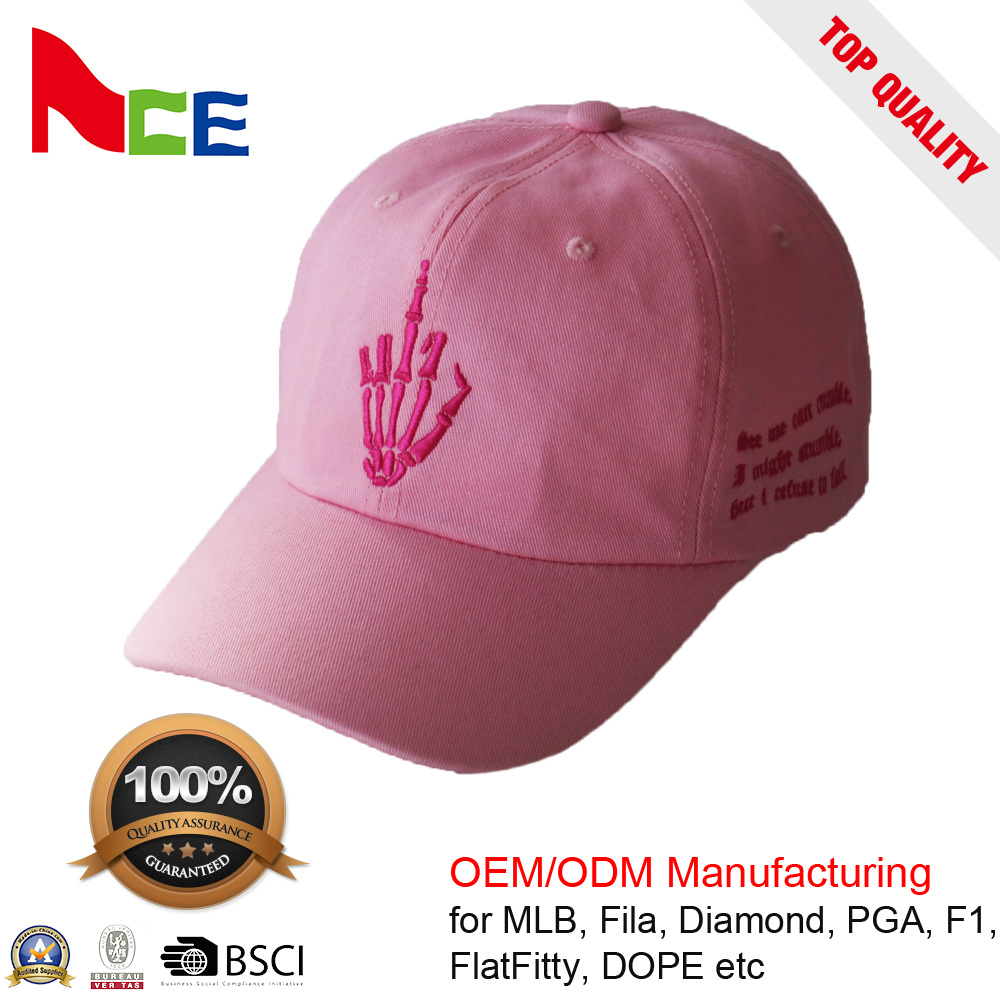 c5730fc6a3a79 China OEM Fashion Free Sample 100% Polyester Baseball Cap with Embroidery -  China Free Sample Cap