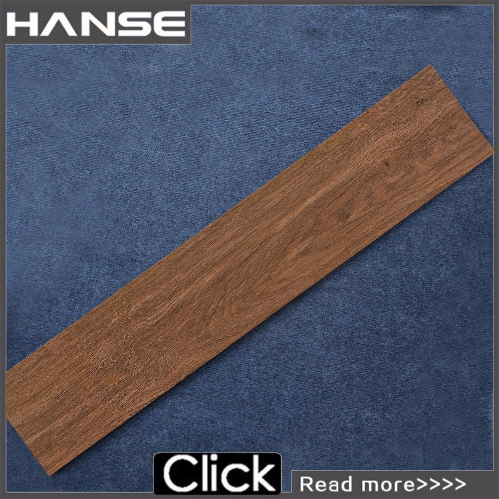 China Wooden Brown Color Wooden Finish Garden Floor Tiles - China ...