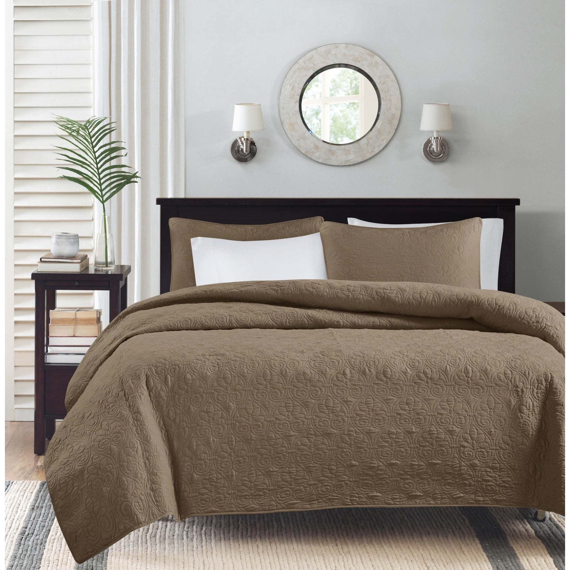 China Modern Bed Spread With Filling 3 Pieces China Quilt And Bed Spread Price