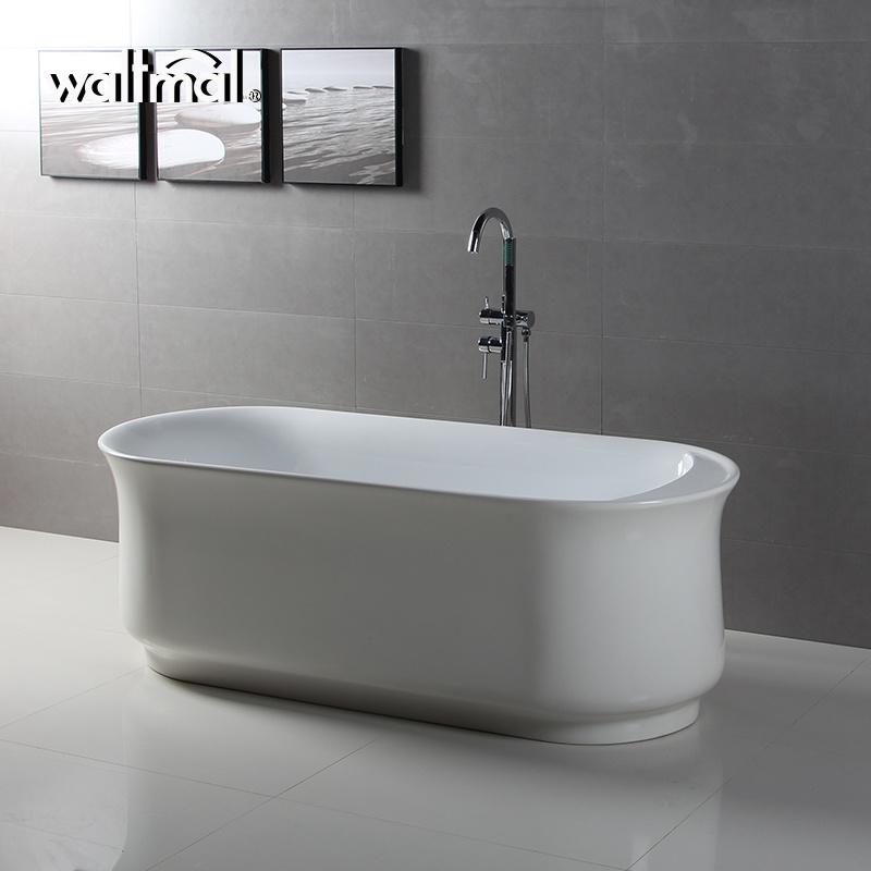 China Thin Rim Bathtubs with Slim Line Overflow Freestanding Bath ...