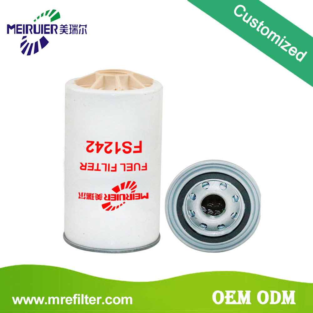 China Truck Engine Fuel Filter For Cummins Fs1242