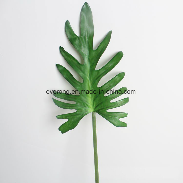 China silk coated monstera leaves artificial monstera leaves silk coated monstera leaves artificial monstera leaves wholesale fake plant wedding flower company fake leaves artificial leaves mightylinksfo