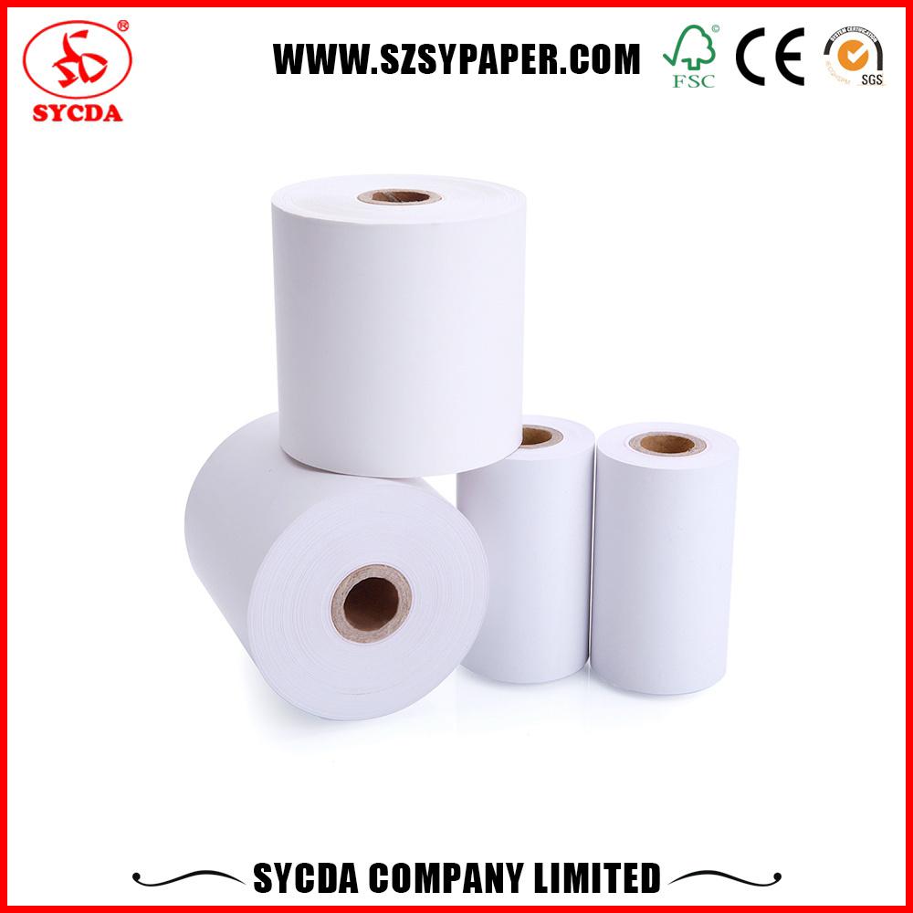 [Hot Item] 65g Thermal Paper Cash Register Paper Roll 48g Thermal Tilling  Paper Rolls