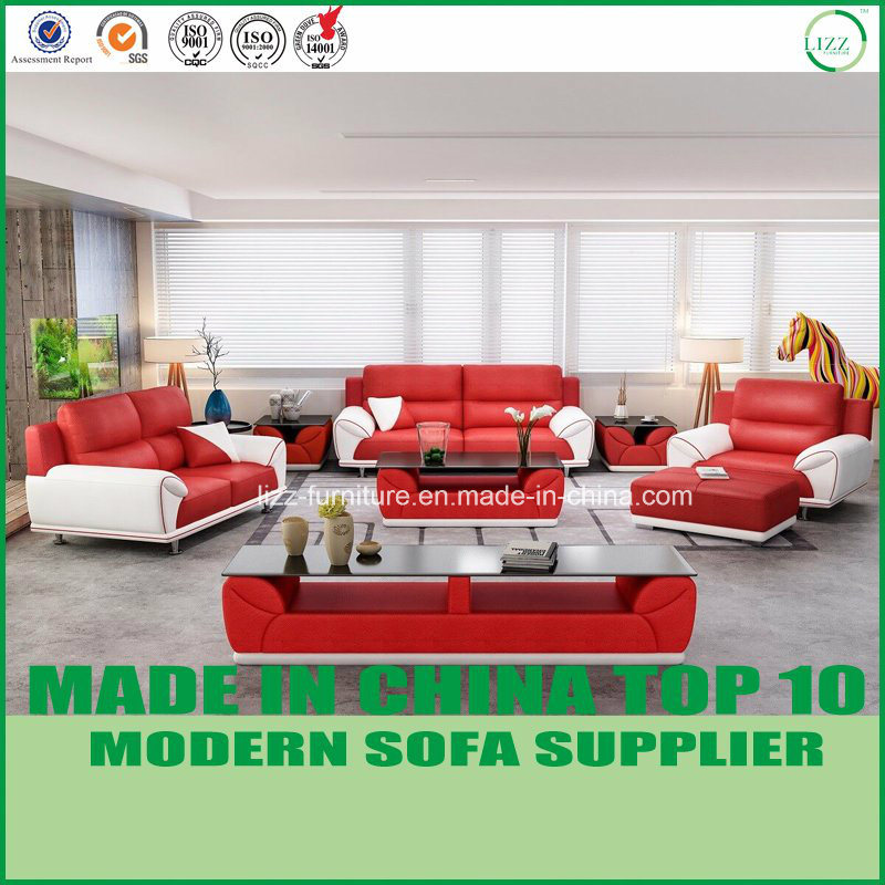 China Contemporary Miami Living Room Furniture Leather ...