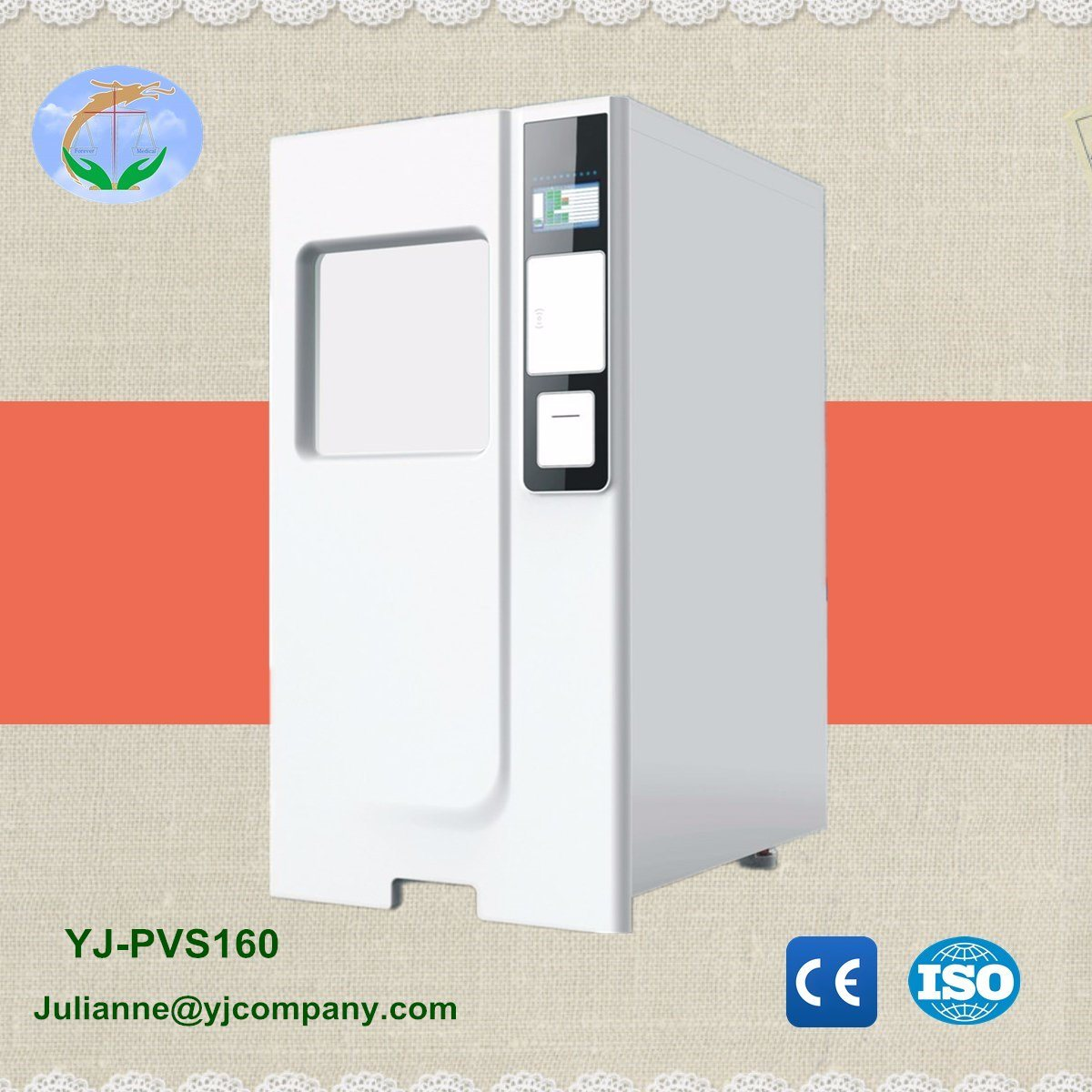 Medical Dental Low-Temperature Hydrogen Peroxide Gas Plasma Sterilizer pictures & photos