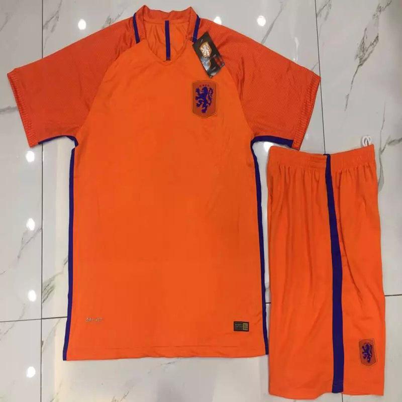 low priced d87b0 07755 [Hot Item] 2016/2017 Netherlands Football Uniforms, Soccer Kits