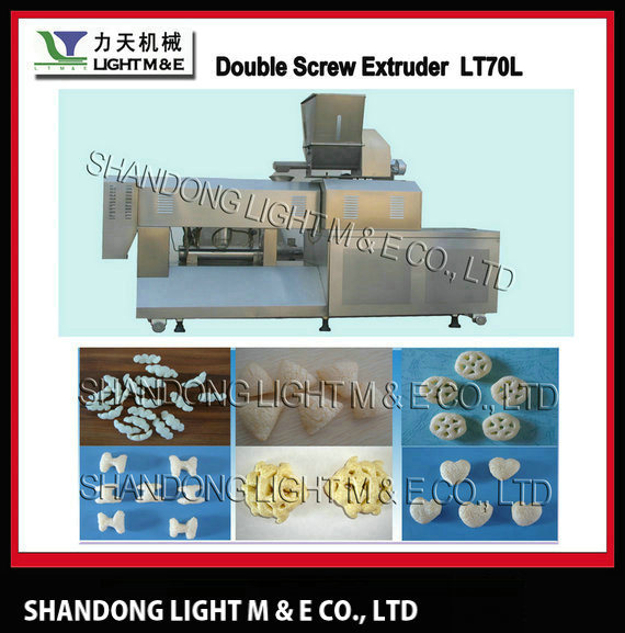 Snacks Food Machine Double Screw Extruder (LT70L) pictures & photos