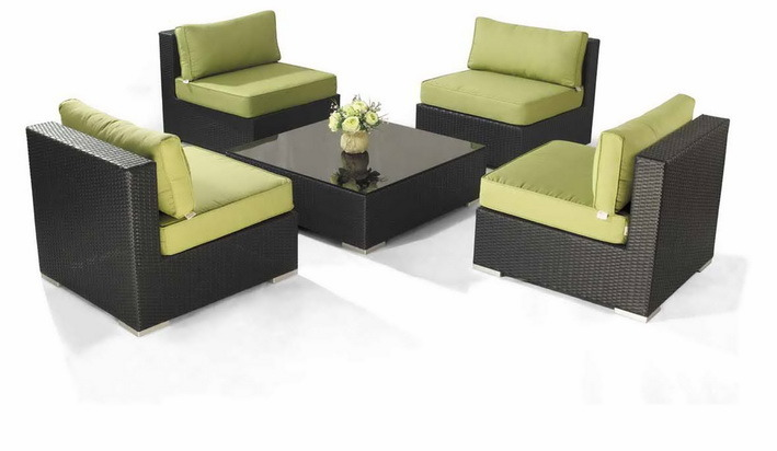 Elegant and Popular Patio Rattan Wicker Furniture pictures & photos