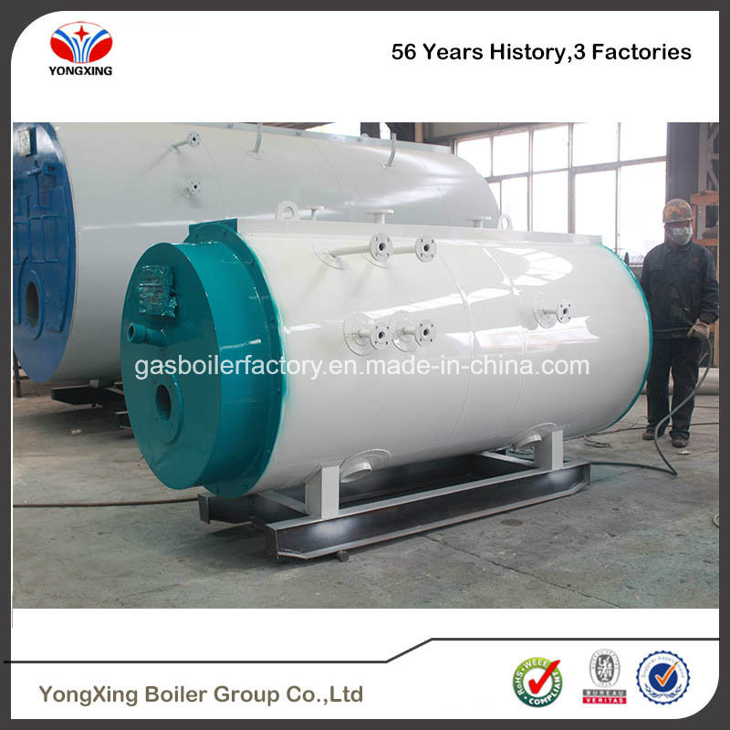 China Ce Certificate Vertical Water-Tube Oil Gas Fired Steam Boiler ...