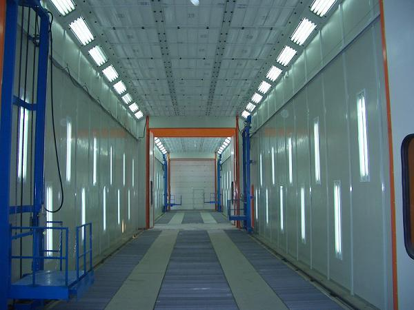 Bus Spray Booth for 18000*5000*5000 (Model: JZJ-FB-18)