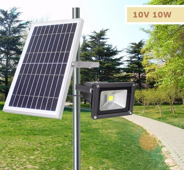 Portable Outdoor Movable Solar Rechargeable Led Flood Light