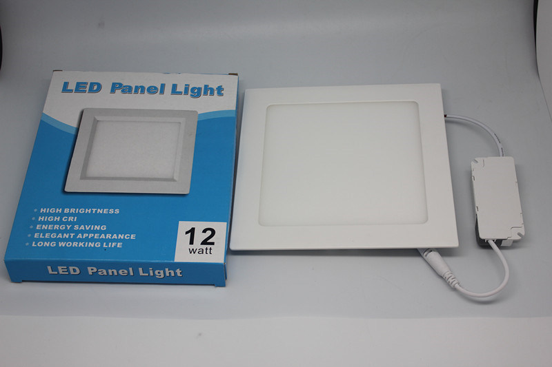 12W LED Ceiling Lamp Dimmable Panel Light with EMC
