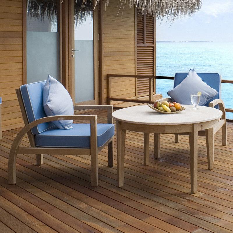 China Teak Wooden Outdoor Patio Balcony